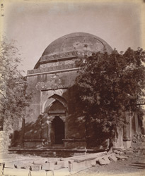 General view of Firoz Shah's Tomb, Delhi.